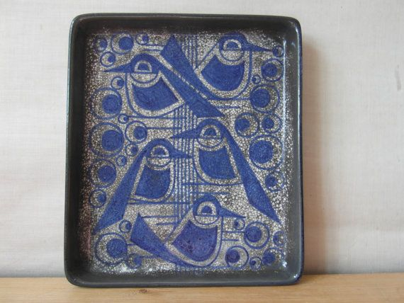 Marianne Starck for Michael Andersen - birds dish - collectible - rare - 60s