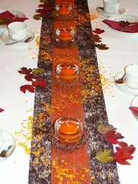Tischdeko Herbst 1