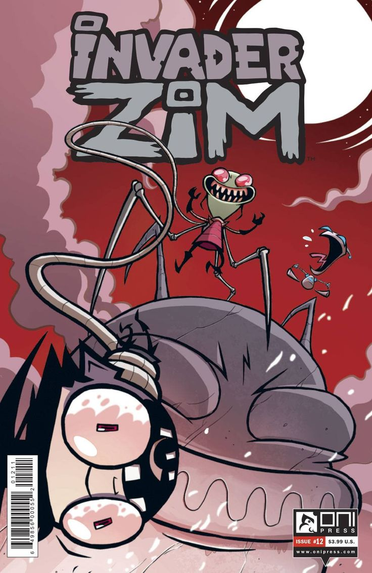 Invader Zim Quotes - Buy invader zim 12 at georgetown comics for only 1 99