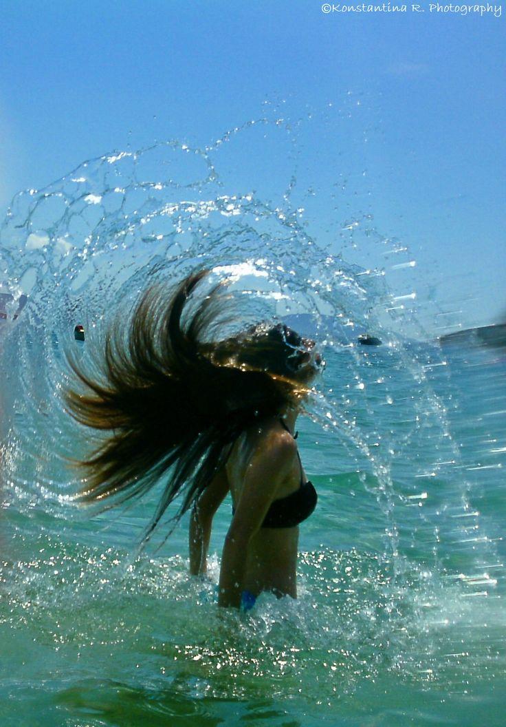 Hair splash