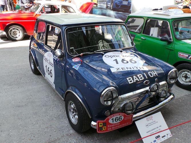Les 294 meilleures images du tableau austin mini thirty for Garage austin mini