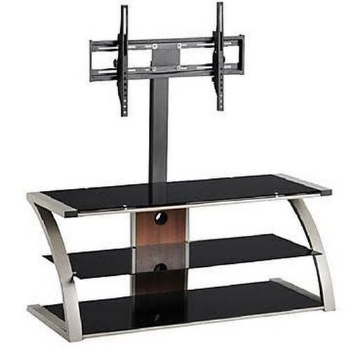 Google Express - Hazelwood Home Plasma TV Stand, Silver