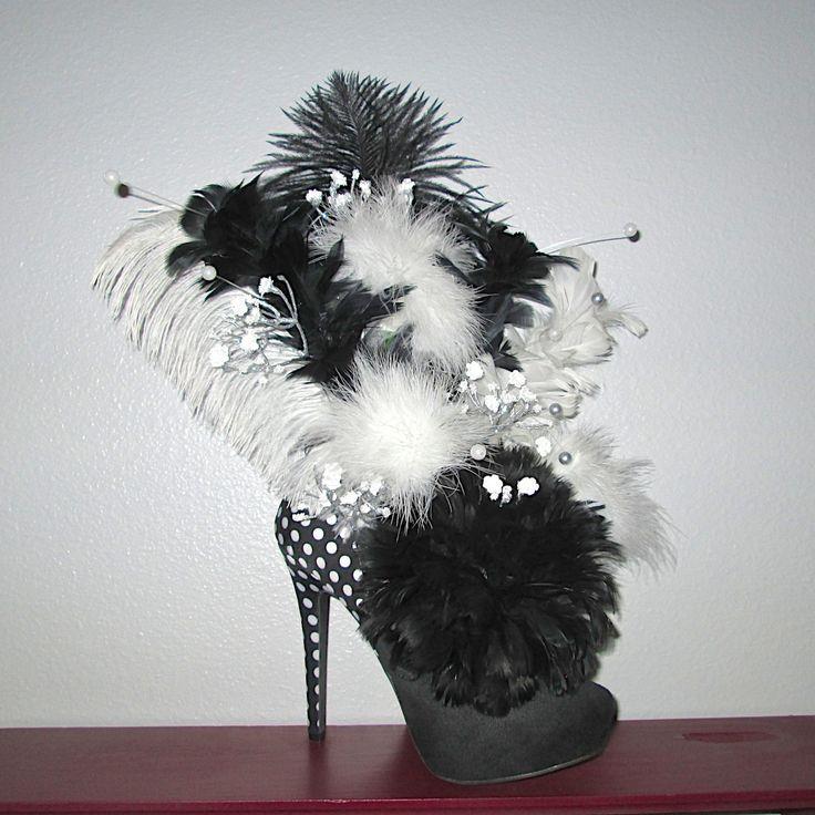 valentine floral arrangements in high heel shoes - Google Search