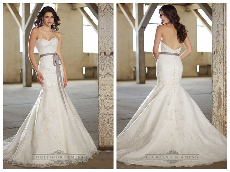 Fit and Flare Sweetheart Lace Appliques Wedding Dresses http://www.ckdress.com/fit-and-flare-sweetheart-lace-appliques-wedding-dresses-p-465.html