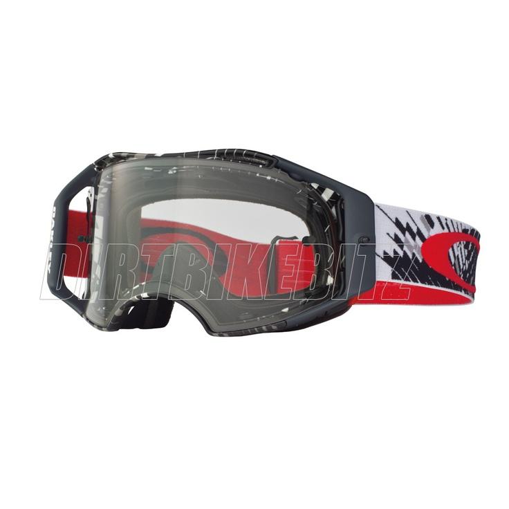 2013 Oakley Airbrake Mx Goggles - Podium Check Airbrake Goggle - 2013 Oakley Airbrake Mx Goggles - 2013 Motocross Gear - by