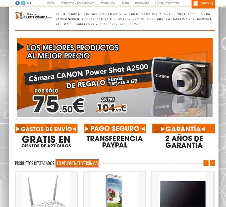 Lomejordelaelectronica.com