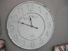 Super grote landelijke klok, maakt het gezellig in uw huis http://www.gewoonknus.nl/c-Wandklokken-74/