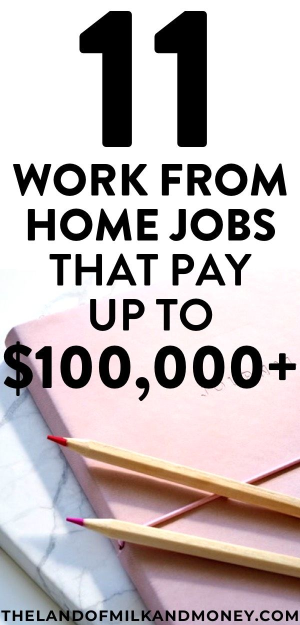 Top Ways To Make Money Online From Home Legitimate Work At Home Jobs