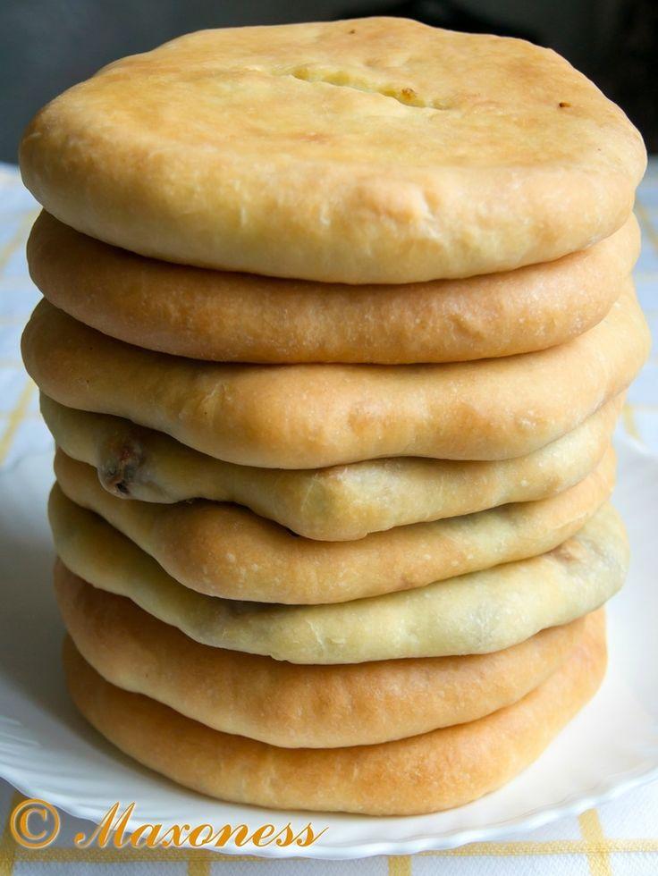 Кубдари (сванский мясной пирог). Грузинская кухня.