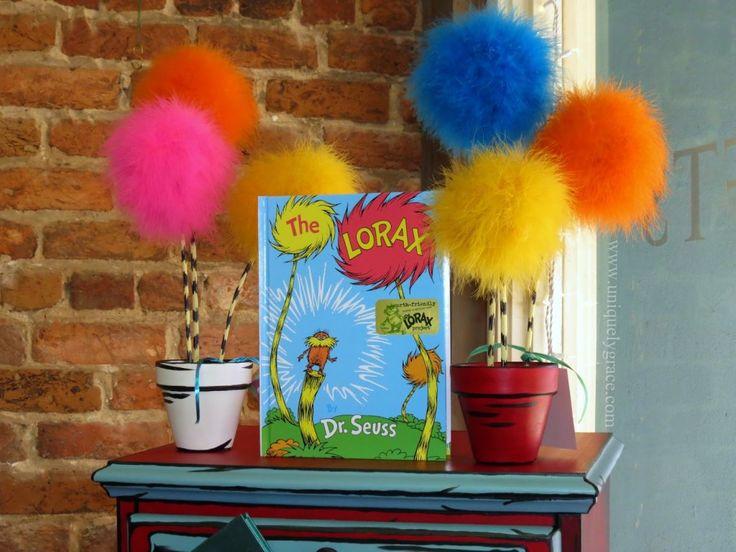 Dr. Seuss' Lorax inspired Truffula Tree Seedlings DIY! - Uniquely Grace Designs