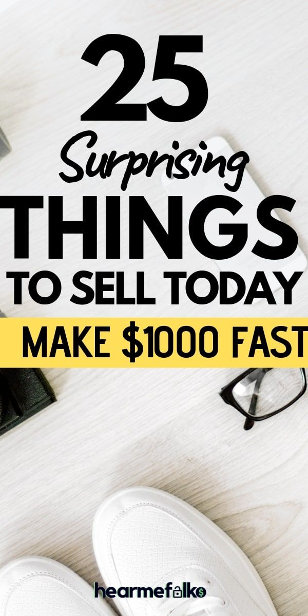 25 Best Things To Sell Online To Make Extra Money Today