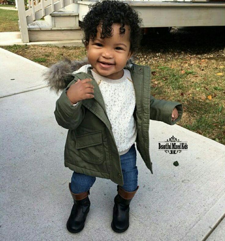 Aria Jayce - 1 Year • Puerto Rican & African American ❤ FOLLOW @beautifulmixedkids on instagram