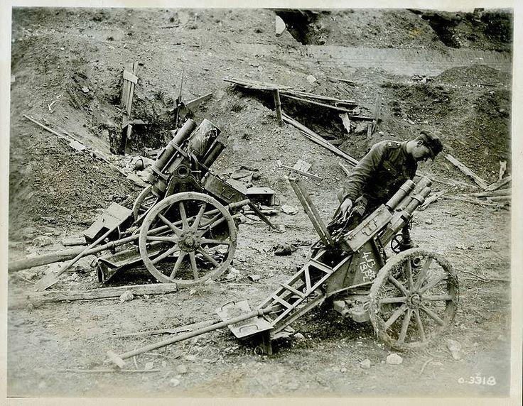 Ww1 trench mortars