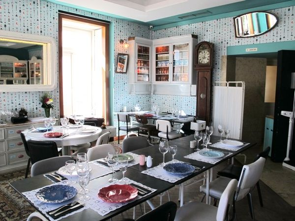 O restaurante Pharmacia, em Lisboa, é conhecido pelos seus pratos portugueses