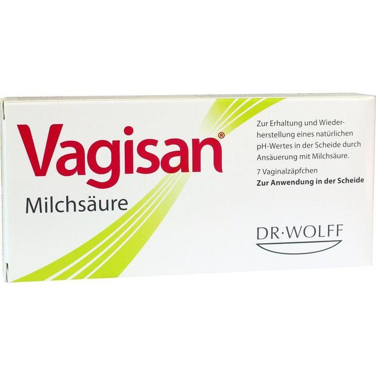 VAGISAN Milchsäure Vaginalzäpfchen:   Packungsinhalt: 7 St Vaginalsuppositorien PZN: 00003435 Hersteller: Dr. August Wolff GmbH & Co.KG…