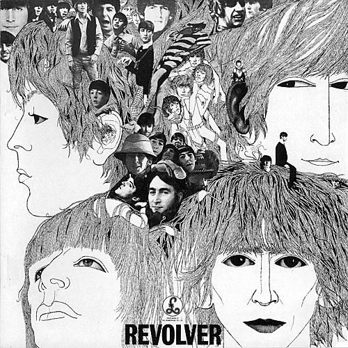 Revolver - The Beatles...Just reminds me of my coffee mug, love love love :)