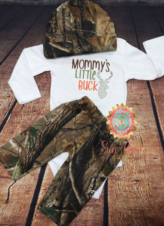Baby hunting outfit-camo baby-camo outfit-take by SunFlareBoutique