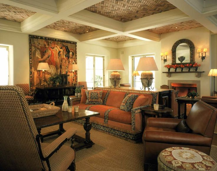 Spanish Style Great Room