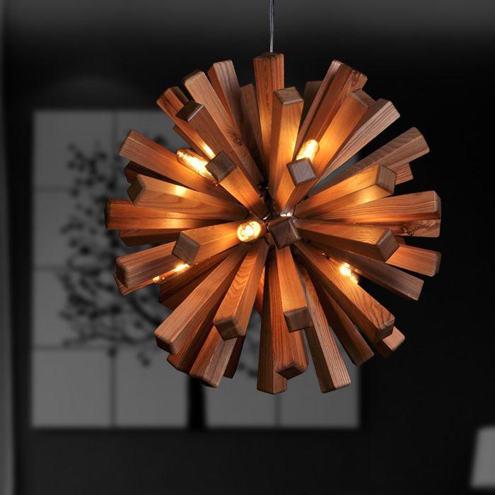 restaurant lamp kunst hanglamp korte woonkamer houten lampen lamp hanglamp hout lampen ø 55cm