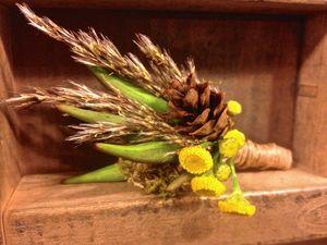 Wildflower, Forest & Meadow Wedding Corsage