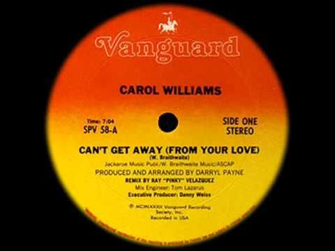 80's Funky Boogie music - Carol Williams - Can't get away (from your love) 1982 - YouTube