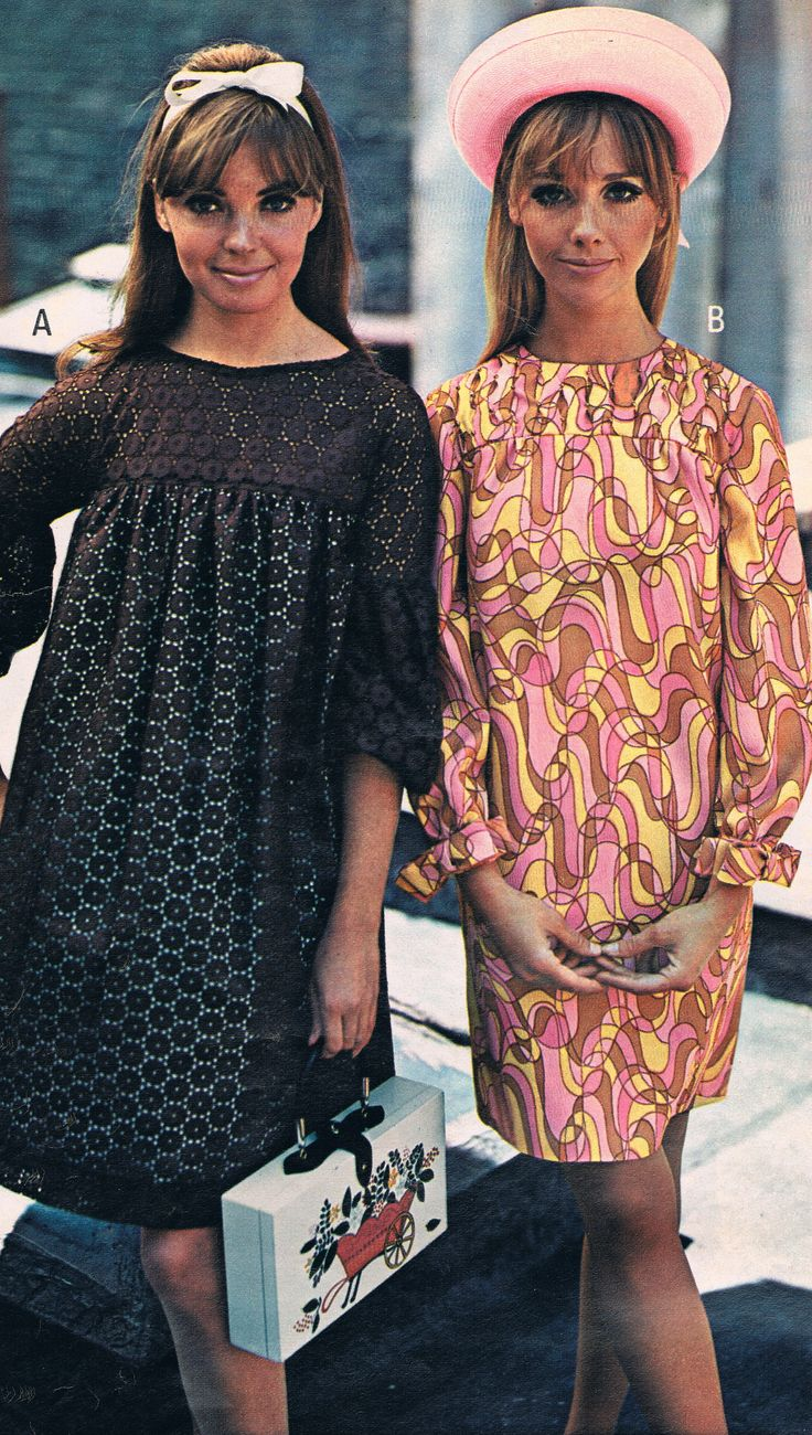 Penneys catalog 1968. Kay Campbell and Cay Sanderson.