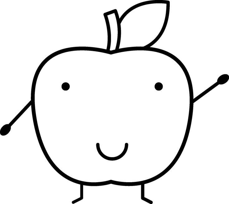 Apfel Zum Ausmalen , Ausmalbilder Tiere Malvorlage A Book ...