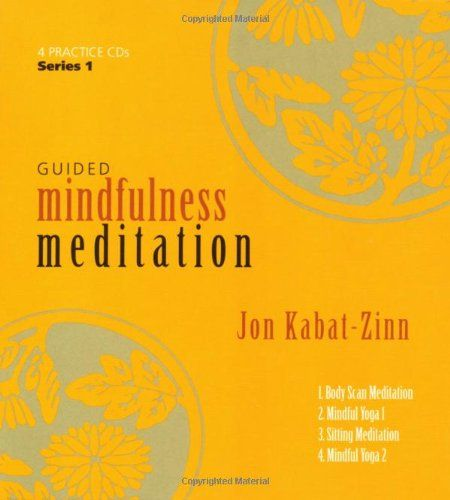 Guided Mindfulness Meditation Series 1/Jon Kabat-Zinn This is the cd we used in the mindfulness course that I was part of at the hospital.