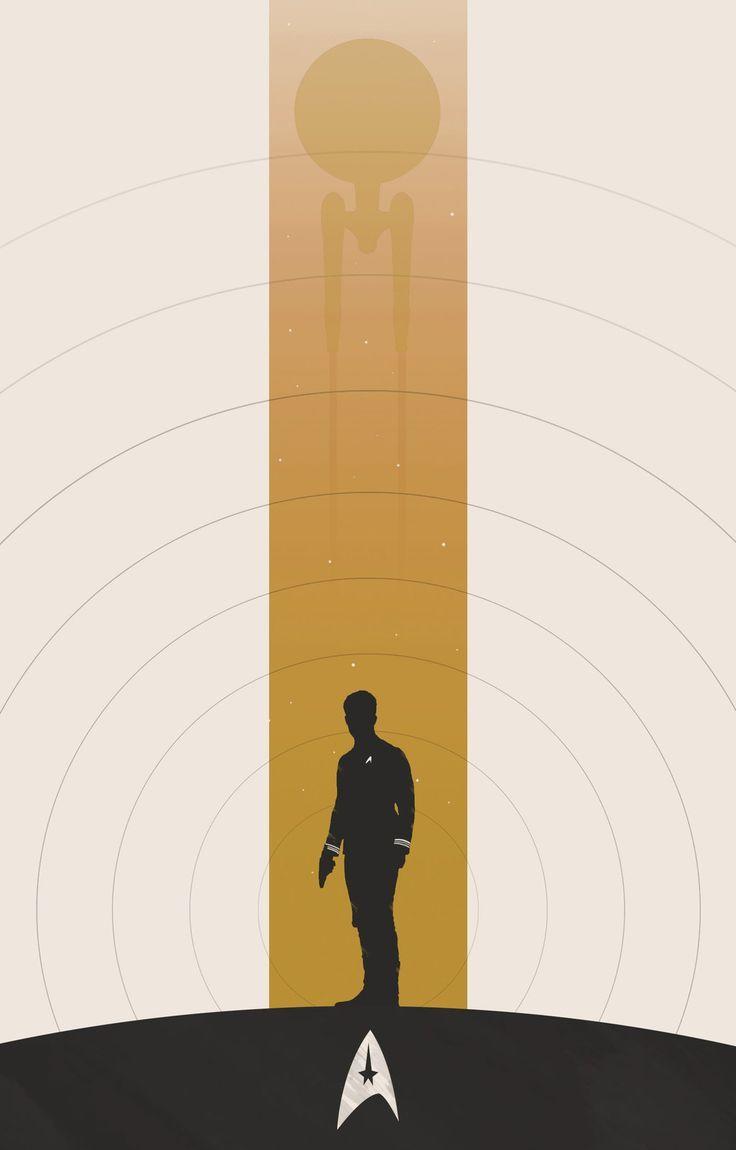 Minimalist Star Trek Ship Star Trek Posters Star Trek Art Star Trek Characters