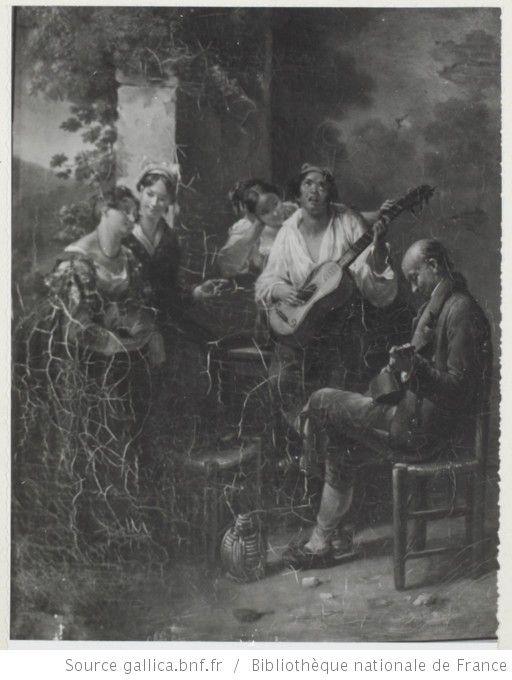 Joueurs de Guitare / Madame Handebourg (?) - 1