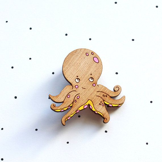 The Awesome Octopus by TheInkyOctopus on Etsy