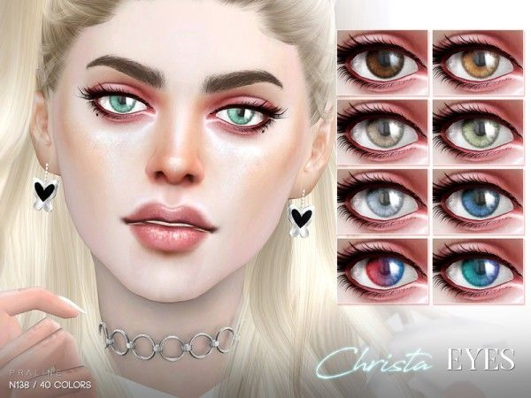 The Sims Resource: Christa Eyes N138 by Pralinesims • Sims 4 Downloads