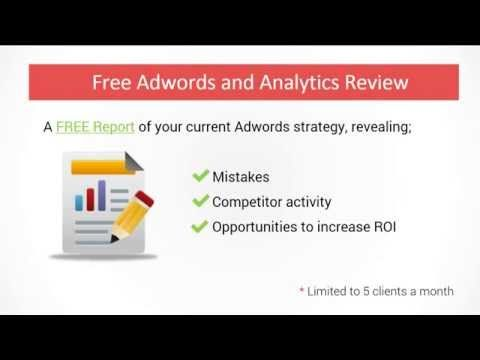 Adwords specialist explains the importance of optimising Google Adwords landing pages - YouTube