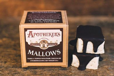 For the nostalgic: Chocolate Topped Mallows. The first known marshmallow candy dates back to ancient Egypt where beekeepers mixed honey and the sap of the marshmallow plant, medicinally used since antiquity for aiding in digestion and healing sore throats. These mallows are made with Kosher Grass-Fed Gelatin and Organic Marshmallow Root. Apotheker's mallows are sweetened only with pure clover honey sourced from a fifth generation beekeeper in Colorado. They have added organic marshmallow ...