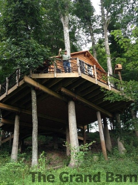 See more Tree Houses at www.TheMohicans.Net