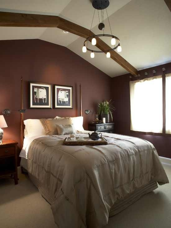 Traditional Bedroom By Harrell Remodeling. Bole Is A Brownish Red Hue That  Really Looks Like Chocolate To Me. I Think Bole, Seen Here On The Walls, ...