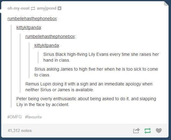 Seriously, the Potter fandom has cracked!