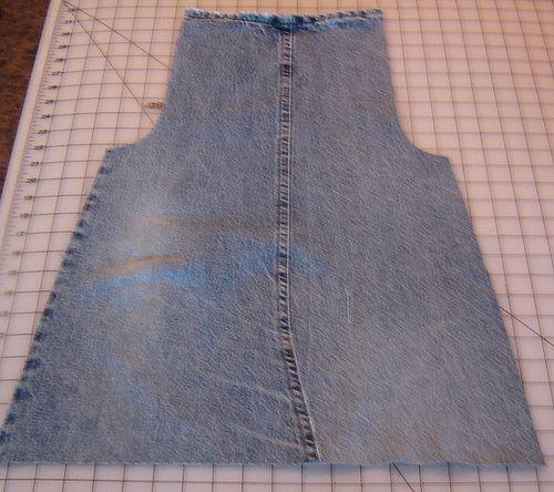 Jeans Apron - Tutorial