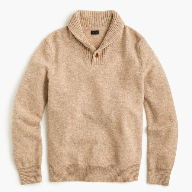 Lambswool shawl-collar sweater | Rad Wardrobe | Pinterest ...