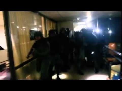 VIDEO: Carabineros desaloja la CONADI a escopetazos habiendo niños presentes   GAMBA