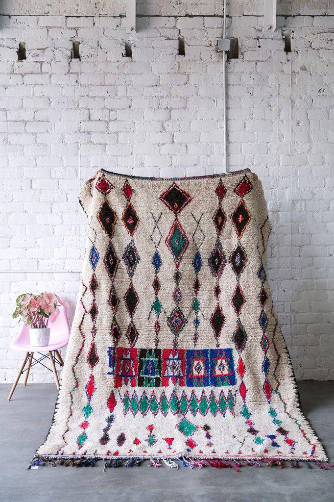 EMERALD CITY vintage moroccan berber carpet