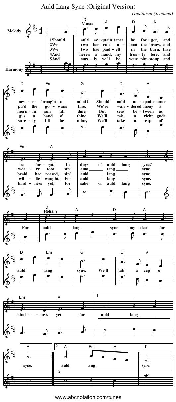 Lyric same old lang syne lyrics : Best 25+ Auld lang syne ideas on Pinterest | For auld lang syne ...