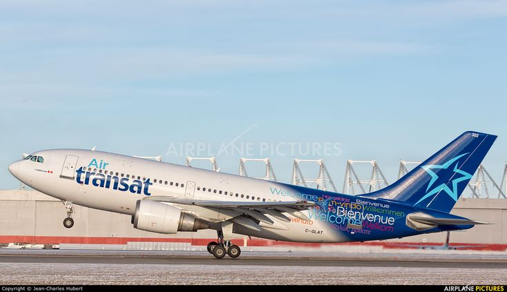 Air Transat C-GLAT aircraft at Montreal - Pierre Elliott Trudeau Int, QC photo