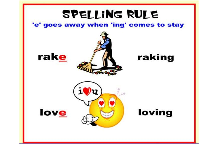 This fantastic IWB lesson explores a number of different spelling rules!