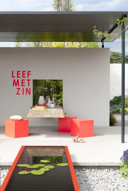 Trendtuin 2013. Inspiratie tuin floriade 2012 door Hendriks Hoveniers