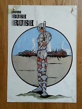 RUSH 27th Jan 1990 DJ's Carl Cox, Grooverider A5 Rave Flyer
