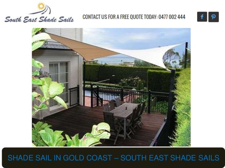 South East Shade Sails is Installation Specialists in Gold Coast. We have been installing and maintaining quality Shade Sails for residential and commercial business for over 13 years.