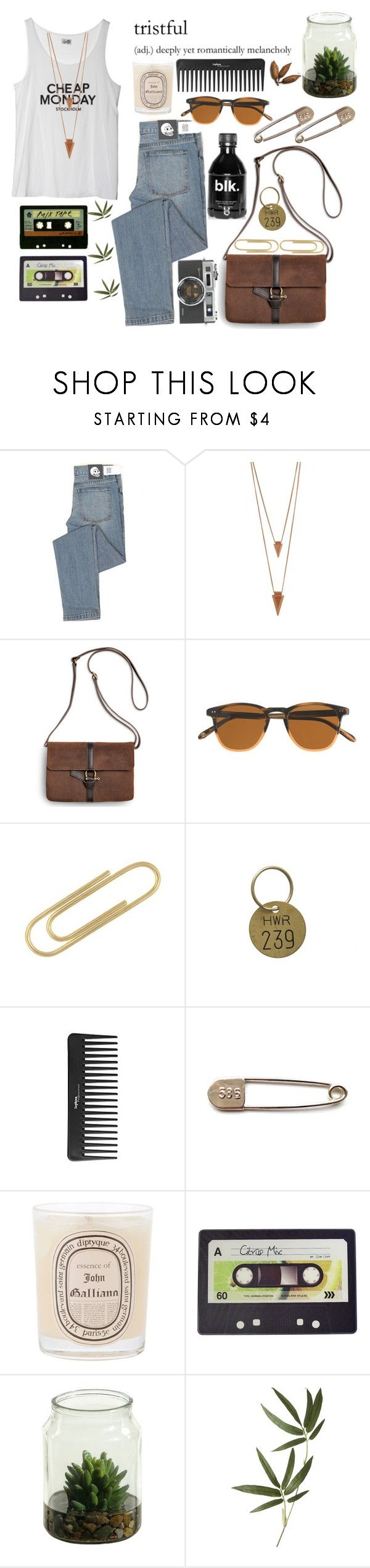 """I don't wanna good boy, no not today"" by gitasamudra ❤ liked on Polyvore featuring Cheap Monday, Jules Smith, Sperry, J.Crew, CO, Jayson Home, Sephora Collection, Diptyque, Joseph Joseph and Crate and Barrel"