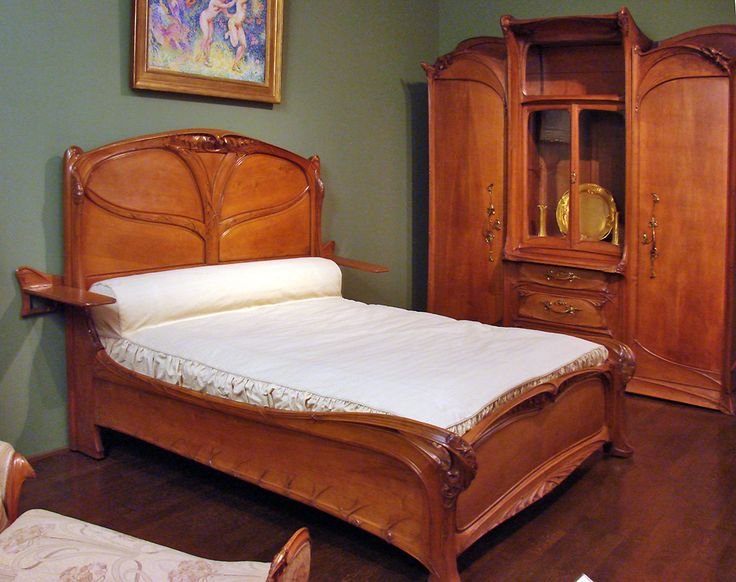 14 best Bed images on Pinterest | 3/4 beds, Art nouveau furniture ...