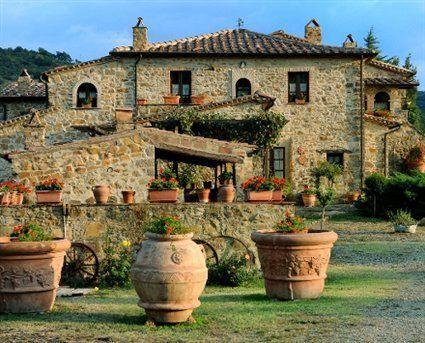 Classic Italian Country Villa In Seggiano Italy